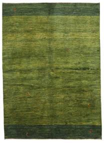 Gabbeh Persisch Teppich  165X230 Echter Moderner Handgeknüpfter Dunkelgrün/Olivgrün (Wolle, Persien/Iran)