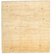Gabbeh Persisch Teppich  195X207 Echter Moderner Handgeknüpfter Quadratisch Beige/Dunkel Beige (Wolle, Persien/Iran)