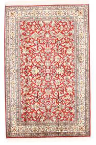Kaschmir Reine Seide Teppich 78X121 Echter Orientalischer Handgeknüpfter Beige (Seide, Indien)