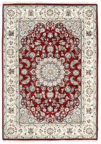 Nain Indisch Teppich  170X242 Echter Orientalischer Handgeknüpfter Beige/Hellgrau ( Indien)