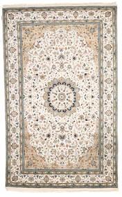 Nain Indisch Teppich 182X294 Echter Orientalischer Handgeknüpfter Hellgrau/Beige ( Indien)