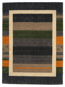 Loribaf Loom Teppich  178X242 Echter Moderner Handgeknüpfter Dunkelgrau/Hellbraun (Wolle, Indien)