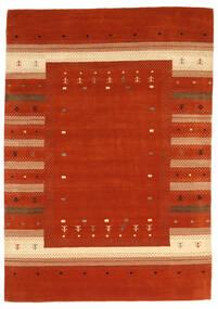 Loribaf Loom Teppich  165X235 Echter Moderner Handgeknüpfter Rost/Rot/Rot (Wolle, Indien)