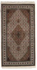 Täbriz Royal Teppich  90X162 Echter Orientalischer Handgeknüpfter Dunkelbraun/Hellgrau ( Indien)
