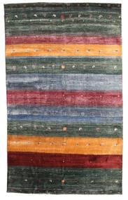 Gabbeh Loribaft Teppich  145X236 Echter Moderner Handgeknüpfter Dunkelgrau/Blau (Wolle, Indien)