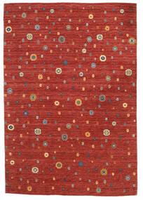 Loribaf Loom Teppich  165X240 Echter Moderner Handgeknüpfter Rost/Rot/Dunkelrot (Wolle, Indien)