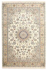 Nain Indisch Teppich  201X302 Echter Orientalischer Handgeknüpfter ( Indien)
