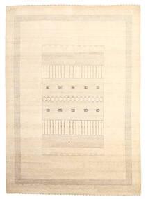 Gabbeh Loribaft Teppich  199X279 Echter Moderner Handgeknüpfter Beige (Wolle, Indien)