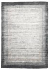 Loribaf Loom Teppich  204X300 Echter Moderner Handgeknüpfter Hellgrau/Weiß/Creme (Wolle, Indien)