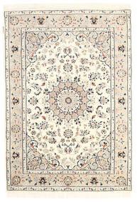 Nain Indisch Teppich  125X181 Echter Orientalischer Handgeknüpfter ( Indien)