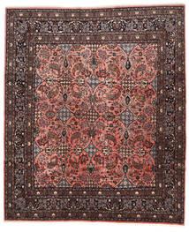 Mehraban Teppich 260X310 Echter Orientalischer Handgeknüpfter Dunkelbraun/Schwartz Großer (Wolle, Persien/Iran)