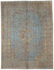 Vintage Heritage Teppich 292X379 Echter Moderner Handgeknüpfter Hellgrau/Dunkelgrau Großer (Wolle, Persien/Iran)
