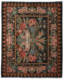 Kelim Rosen Moldavia Teppich 225X277 Echter Orientalischer Handgewebter Dunkelgrau/Dunkelbraun (Wolle, Moldawien)