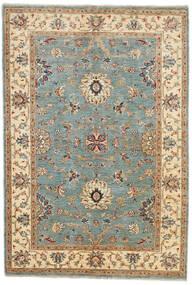 Ziegler Ariana Teppich 123X180 Echter Orientalischer Handgeknüpfter Dunkelgrün/Braun (Wolle, Afghanistan)