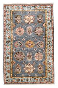 Kazak Ariana Teppich  94X148 Echter Moderner Handgeknüpfter Blau/Hellbraun (Wolle, Afghanistan)