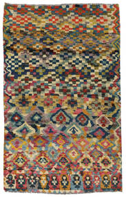 Moroccan Berber - Afghanistan Teppich  117X182 Echter Moderner Handgeknüpfter Dunkelgrau/Hellgrau (Wolle, Afghanistan)