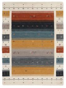 Loribaf Loom Designer - Multi Teppich  140X200 Moderner Schwartz/Dunkelbraun (Wolle, Indien)