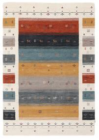 Loribaf Loom Designer - Multi Teppich  120X180 Moderner Beige/Dunkelbraun (Wolle, Indien)