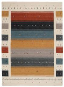 Loribaf Loom Designer - Multi Teppich 210X290 Moderner Schwartz/Hellgrau (Wolle, Indien)
