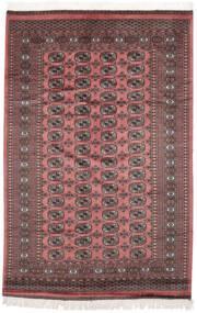 Pakistan Buchara 2Ply Teppich 160X243 Echter Orientalischer Handgeknüpfter Dunkelrot/Dunkelbraun (Wolle, Pakistan)