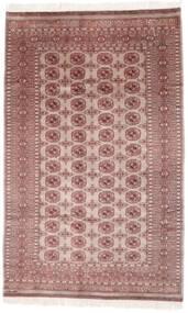 Pakistan Buchara 2Ply Teppich  154X249 Echter Orientalischer Handgeknüpfter Dunkelrot/Dunkelbraun (Wolle, Pakistan)