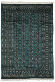 Pakistan Buchara 2Ply Teppich  180X255 Echter Orientalischer Handgeknüpfter Schwartz/Dunkelgrün (Wolle, Pakistan)