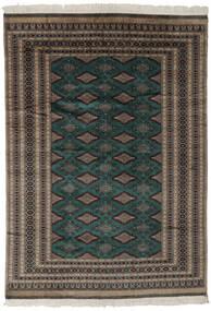 Pakistan Buchara 2Ply Teppich  180X256 Echter Orientalischer Handgeknüpfter Schwartz/Dunkelbraun (Wolle, Pakistan)