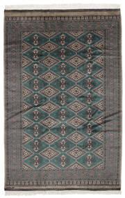 Pakistan Buchara 2Ply Teppich 161X243 Echter Orientalischer Handgeknüpfter Schwartz/Dunkelbraun (Wolle, Pakistan)