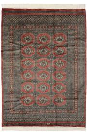Pakistan Buchara 3Ply Teppich 175X240 Echter Orientalischer Handgeknüpfter Dunkelbraun/Schwartz (Wolle, Pakistan)