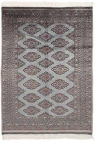 Pakistan Buchara 2Ply Teppich  125X176 Echter Orientalischer Handgeknüpfter Schwartz/Dunkelgrau (Wolle, Pakistan)