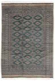 Pakistan Buchara 3Ply Teppich  174X244 Echter Orientalischer Handgeknüpfter Schwartz/Dunkelgrau (Wolle, Pakistan)