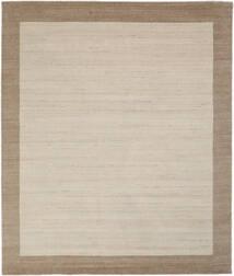 Handloom Frame - Natural/Sand Teppich  250X300 Moderner Hellbraun/Hellgrau/Dunkelbraun Großer (Wolle, Indien)
