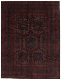 Belutsch Teppich  262X342 Echter Orientalischer Handgeknüpfter Schwartz Großer (Wolle, Afghanistan)