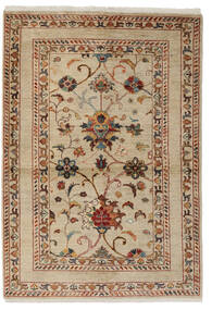 Ziegler Ariana Teppich  106X152 Echter Orientalischer Handgeknüpfter Braun/Beige (Wolle, Afghanistan)