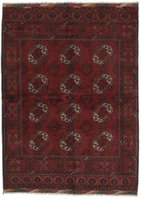 Afghan Teppich  176X238 Echter Orientalischer Handgeknüpfter Schwartz (Wolle, Afghanistan)