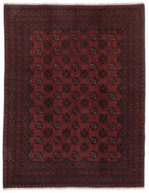 Afghan Teppich  146X188 Echter Orientalischer Handgeknüpfter Schwartz (Wolle, Afghanistan)