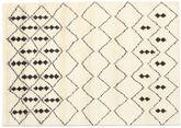 Berber Indisch - Off-Weiß / Schwarz